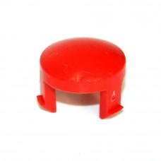 Кнопка красная 21,5мм