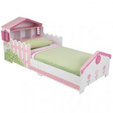 Детская кровать KidKraft Кукольный домик с полочками